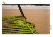 Wooden Slipway Rhos On Sea Carry-all Pouch