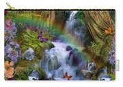 Woodland Forest Fairyland Carry-all Pouch by Alixandra Mullins