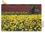 Worker Carrying Tulips Carry-all Pouch