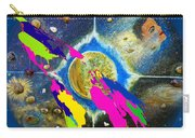 World Map And Barack Obama Stars Carry-all Pouch by Augusta Stylianou