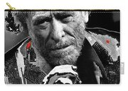 Writer Charles Bukowski On Tv Show Apostrophes In September 1978-2013 Carry-all Pouch