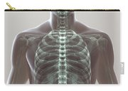 X-ray Skeleton Carry-all Pouch