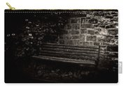 Ye Olde Bench In Bakewell Town Peak District - England Carry-all Pouch