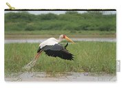 Yellow-billed Stork Mycteria Ibis Carry-all Pouch