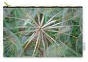 Yellow Goat's Beard Wildflower Seed Head - Tragopogon Dubius Carry-all Pouch