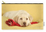 Yellow Labrador Puppy Carry-all Pouch