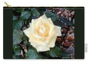 Yellow Rose At Dawn Carry-all Pouch