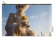 Venetian Carnival. Yellow Rose Charmer By Zina Zinchik Carry-all Pouch