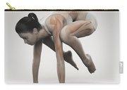 Yoga Crane Pose Carry-all Pouch