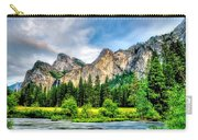 Mustard Meadow Carry-all Pouch