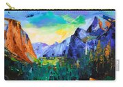 Yosemite Valley - Tunnel View Carry-all Pouch