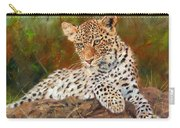 Young Leopard Carry-all Pouch
