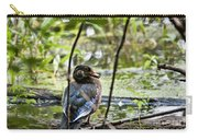 Young Wood Duck Carry-all Pouch