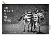 Zebra Carry-all Pouch