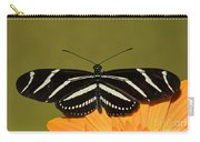 Zebra Longwing Carry-all Pouch