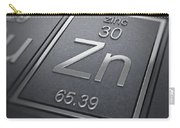Zinc Chemical Element Carry-all Pouch