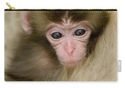 Baby Snow Monkey, Japan Carry-all Pouch