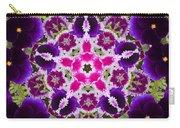 Flower Kaleidoscope Resembling A Mandala Carry-all Pouch