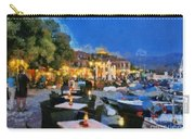 Molyvos Town In Lesvos Island Carry-all Pouch