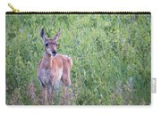 Pronghorn Antelope Portrait Carry-all Pouch