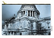 St Paul's Cathedral London Art Carry-all Pouch by David Pyatt