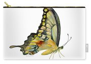 104 Perched Swallowtail Butterfly Carry-all Pouch by Amy Kirkpatrick
