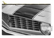 1969 Chevrolet Camaro Z 28 Grille Emblem Carry-all Pouch