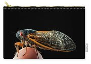 A Detailed View Of A Brood II Cicada Carry-all Pouch