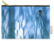 Dandelion Close-up View Backlit Carry-all Pouch