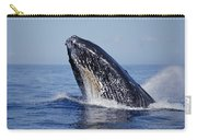 Humpback Whale Breaching Maui Hawaii Carry-all Pouch