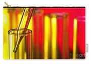 Laboratory Test Tubes In Science Research Lab Carry-all Pouch