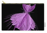 11 Purple Ballerina Carry-all Pouch