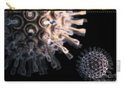 Virus Particles Carry-all Pouch