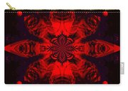 1107 - Mandala Red   Carry-all Pouch