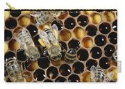 Honey Bees On Honeycomb Carry-all Pouch