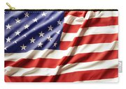 American Flag Carry-all Pouch by Les Cunliffe