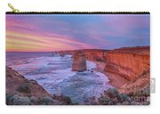 12 Apostles At Sunset Pano Carry-all Pouch