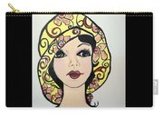 Flapper Girl Claire Carry-all Pouch