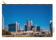 Charlotte City Skyline Autumn Season Carry-all Pouch