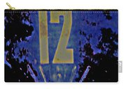 12 In  Blue Carry-all Pouch