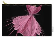 12 Pink Ballerina Carry-all Pouch
