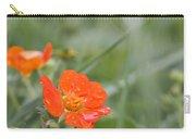 Scarlet Avens Orange Wild Flower Carry-all Pouch