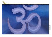 12x16 Purple Om Carry-all Pouch