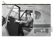 Amelia Earhart (1897-1937) Carry-all Pouch