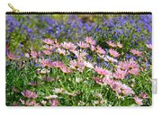 Background Of Colorful Flowers Carry-all Pouch