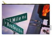 13 Mile Road And Woodward Avenue Carry-all Pouch