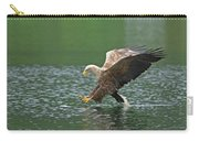 White-tailed Sea Eagle In Norway Carry-all Pouch