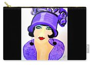 Art Deco Milly Carry-all Pouch