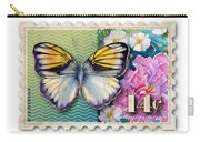 14 Cent Butterfly Stamp Carry-all Pouch