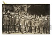 Hine Child Labor, 1911 Carry-all Pouch